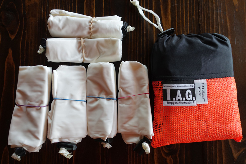 TAG Bags B.O.M.B. pack (Boned Out Meat Bags)